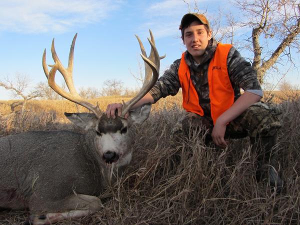 hunting-mule-deer