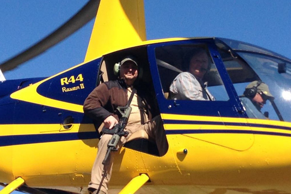 Helicopter Pig Eradication Hunts in Texas