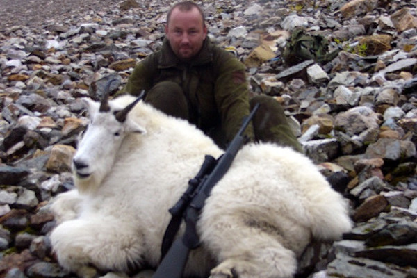 Mountain Goat Hunt in Canada