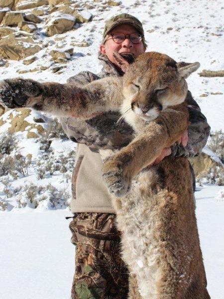 cougar-hunting