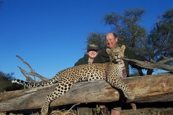 Namibia Leopard Hunt